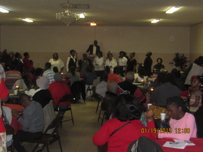 Attendees at Panola's Annual Dr. Martin Luther King Jr. Unity Breakfast